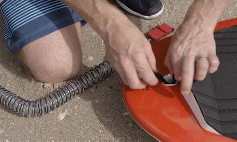 how to your leash how to attach the leash to your stand up paddleboard standup journal magazine