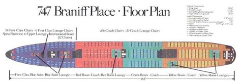 boeing 747 floor plan floor plans and floors on pinterest
