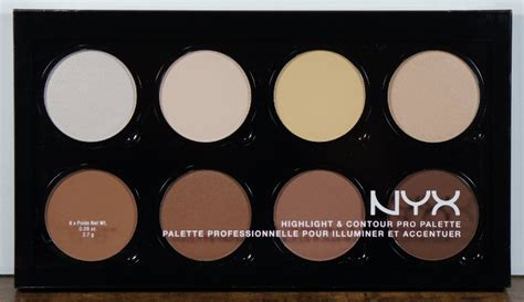 Nyx Highlight And Contour Pro Palette nyx highlight contour pro palette review and