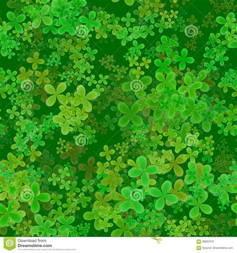 Clover Green green clover leaves background stock photo