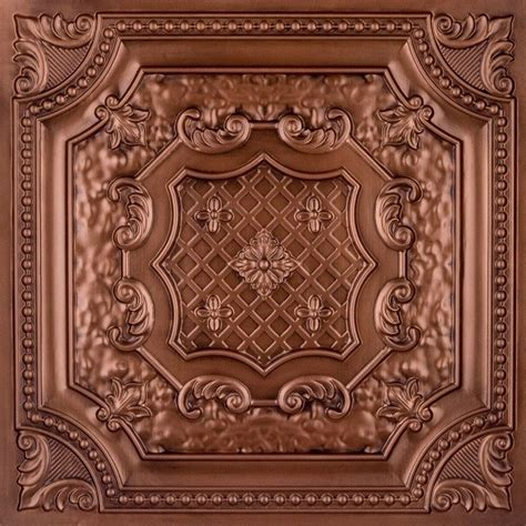 Tin Ceiling Tiles Dct 04 Faux Tin Ceiling Tile Drop In 24x24 Ceiling Tile