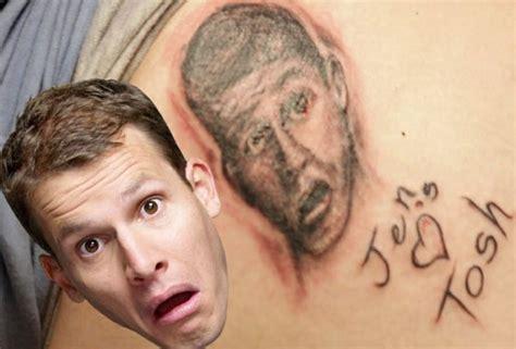 butt cheek tattoo that s your daniel tosh
