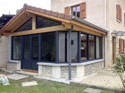 veranda metall v 233 randa sur mesure avec alu stores m 233 tal