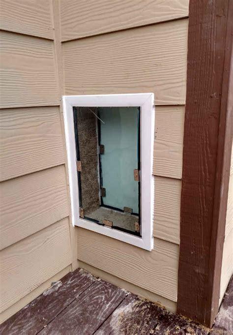 through wall door we how to install doors right