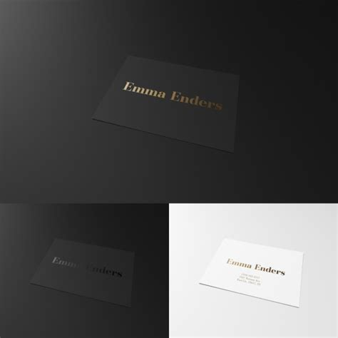 black and white business cards templates psd black and white business card psd file free