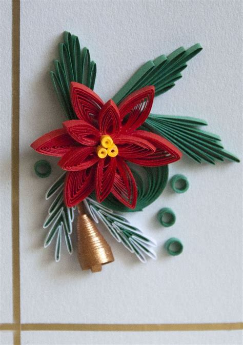 quilling christmas ornament patterns a poinsettia paper quilling quilled snowflakes and patterns quilling