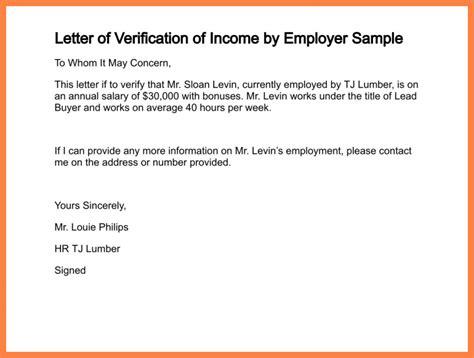 Employment Confirmation Letter Format Exle 5 salary confirmation letter template salary slip