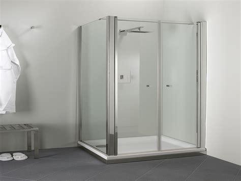 doccia doppia parete doccia angolare a doppia anta con lato fisso palau