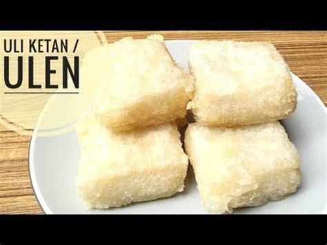 resep jadah kue traditional doovi