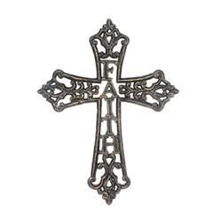 Pedestal Apothecary Jars Cast Iron Faith Wall Cross