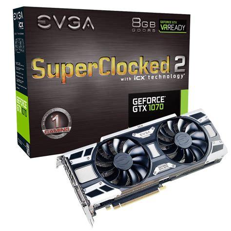 Evga Gtx 1070 Sc2 Gaming 8gb Evga Products Evga Geforce Gtx 1070 Sc2 Gaming 08g P4