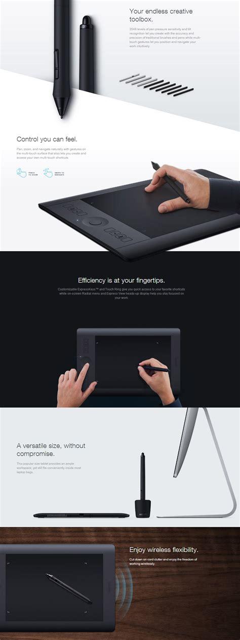 Wacom Intuos Pro Small Touch Pth 451 Alat Desain Pen Tablet Professional wacom intuos pro pth 451 small tablet pth 451 k1 cx pc gear