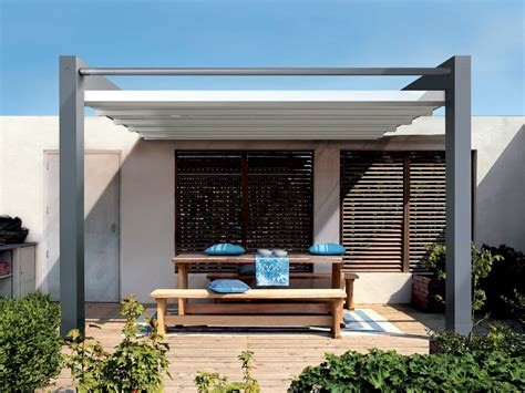 Impressionnant Store Pour Pergola Bois #1: pergola-toile-retractable-alu.jpg