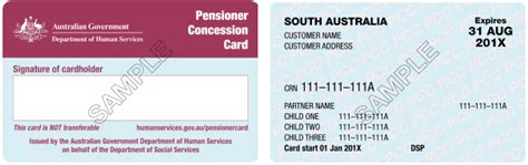 adelaide metro concession cards