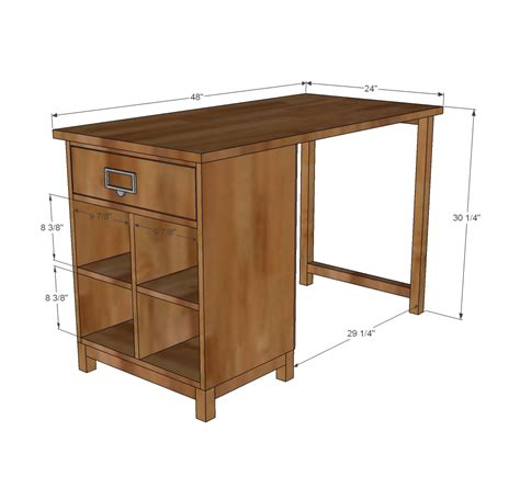 Plans To Build A Desk by White Schoolhouse Project Table Desk Diy Projects