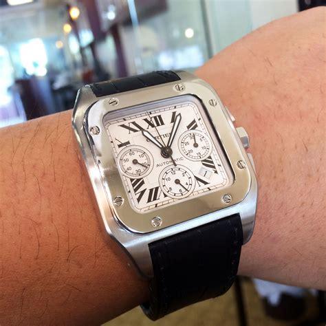 Cartier Santos 100xl cartier 2740 santos 100xl chronograph automatic