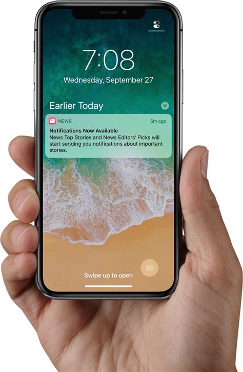 on top right iphone x tidbits lock screen shortcuts dock control