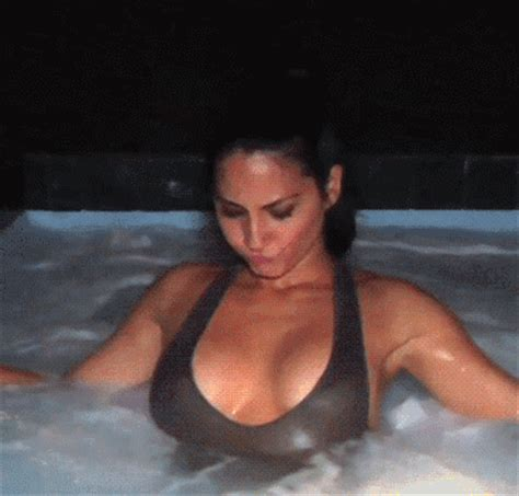 nude sex in bathtub olivia munn gif find share on giphy