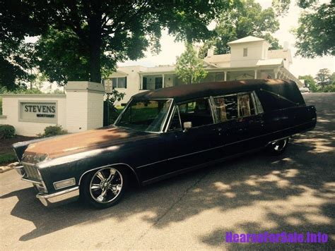 funeral coach for sale 1968 cadillac miller meteor hearse hearse for sale