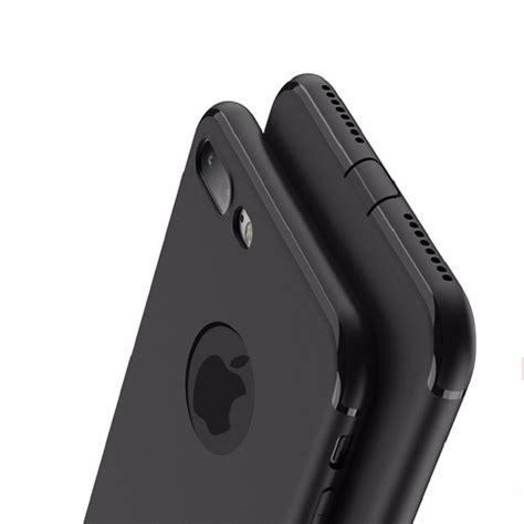 Slim Black Matte For Iphone 5 6 7 8 Xiaomi Smartphone X 2 slim silicone iphone 7 7 plus 6 6s matte soft black premium murah shopee indonesia