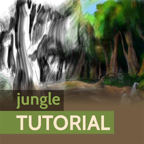 tutorial picsart drawing step by step tutorial on how to draw a jungle using