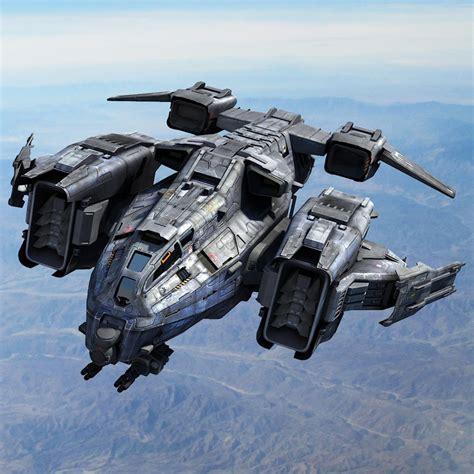 No Dropship by 3ds Max Sci Fi Dropship