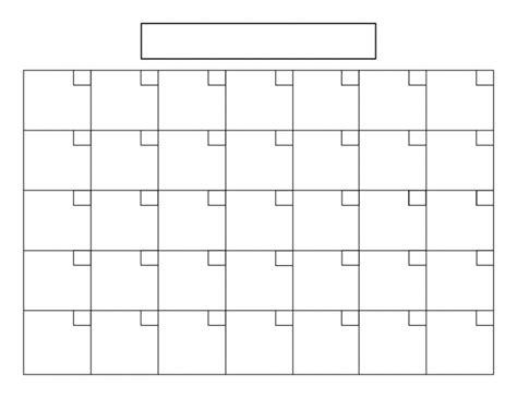 printable calendar grid 31 day blank printable calendar calendar printable 2018