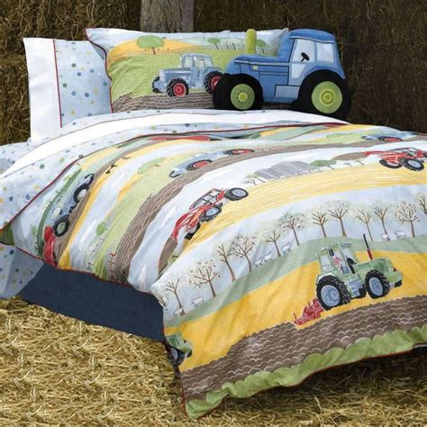 Field Days Boys Toddler Bedding 100 Cotton Paces Tractor Toddler Bedding Sets
