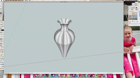 google sketchup vase tutorial google sketchup tutorial custom pottery youtube