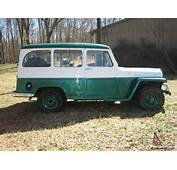 1958 WILLYS JEEP STATION WAGON 27686 RIGHT MILES MINT CONDITION For