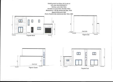 plan maison toit plat 3283 plans maison toit plat 160m2 40 messages
