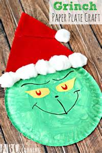 grinch paper plate craft pictures photos and images for