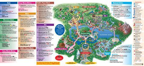 printable map of animal kingdom orlando gu 237 a y mapa de animal kingdom