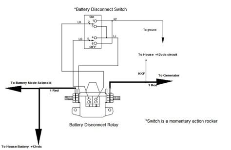wiring diagram for rv battery cutoff switch 43 wiring