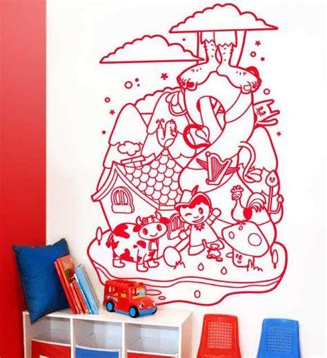 Nursery Rhyme Wall Decals Nursery Rhymes Get A New Look With Mik Maks Wall Decals