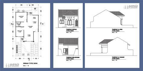 membuat imb rumah lama kumpulan gambar denah dan tak berbagai macam tipe rumah