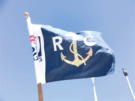 rc boat flags a view from the race committee boat