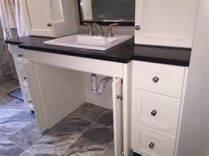 Height Of Wheelchair Vanity 25 Best Ideas About Handicap Bathroom On Ada