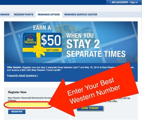 Best Western Hotel Gift Cards - get a 50 gift card after 2 stays at best western million mile secrets