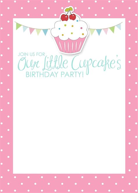 Birthday Invitation Card Template by Birthday Invitation Card Template Free Birthday