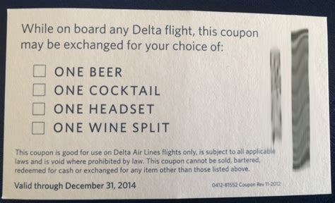 giveaway 20 delta drink or headset coupons palo will travel