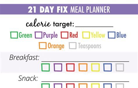 meal plan template pdf search results calendar 2015