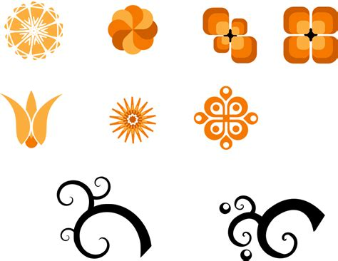 design elements vector png set of design elements png clip arts for web clip arts