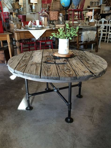 cable spool coffee table best 25 cable spool tables ideas on wire
