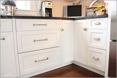 white kitchen cabinets with brushed nickel hardware about satin nickel cabinet knobs the homy design