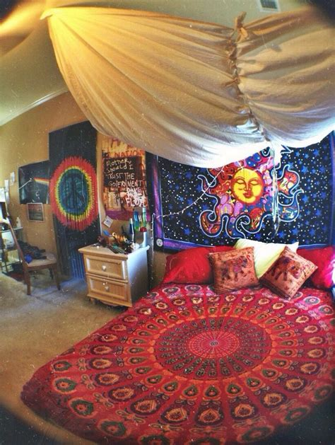 psychedelic room hippie room for the home decor