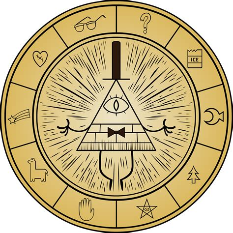 gravity falls bill cipher wheel gravity falls favourites by sesshomaru431 on deviantart
