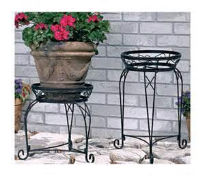 black metal home garden decor flower pot plant planter