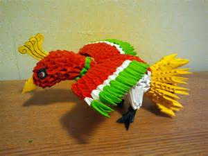 3 D Origami - 3d origami ho oh by pokegami on deviantart