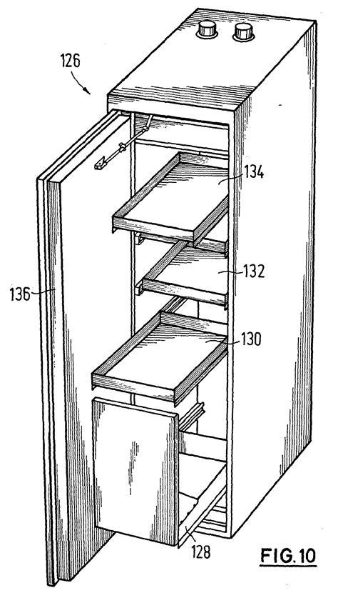 Schublade Schnitt by Patent Ep1116846a1 Schrank Insbesondere